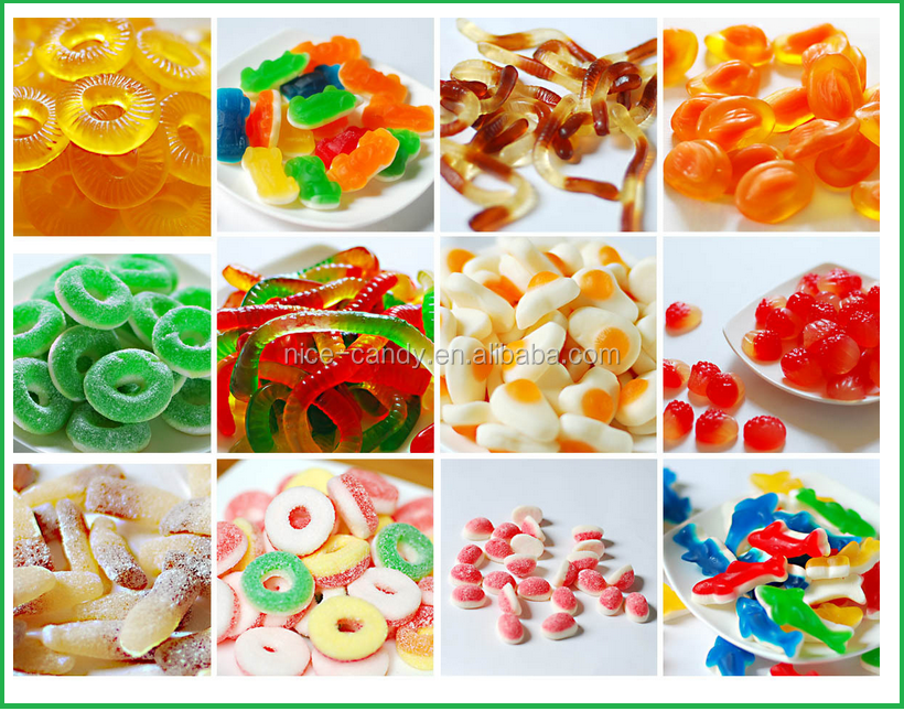 sweet halal fruity gummy jelly candy