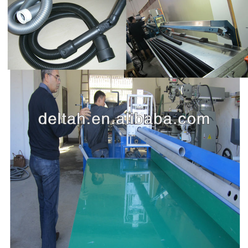 Steel wire reinforcement hose extruding machine pvc hose making machine