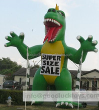 advertising inflatable ,super huge inflatable Tyrannosaurus Rex Dinosaur/giant custom-made inflatable T-REX