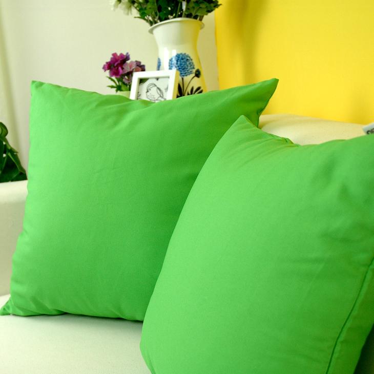 100 coton vert coussin d coratif coussin pour canap d coration de no l haute qualit free. Black Bedroom Furniture Sets. Home Design Ideas
