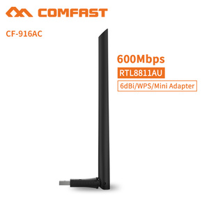 Hot Sale 2018 COMFAST CF-916AC 600Mbps Dual Band WiFi USB2.0 Adapter For Android Tablet,Mobile