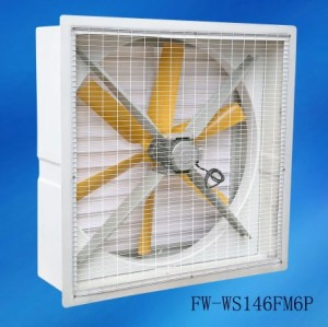 "27"" 32"" 37"" 41"" 48"" 59"" SMC Fiberglass Housing 6 Blades Exhaust Fans / industrial wall exhaust fan"