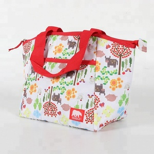 Food delivery children tote ice cooler lunch bag insulated