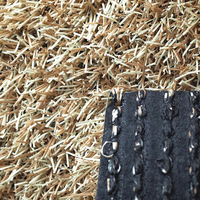 Outdoor Synthetic Grass Non Infill Artificial Turf For Sale