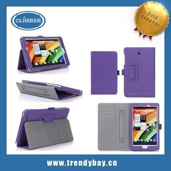 high quality credit card and flip stand leather tablet. Black Bedroom Furniture Sets. Home Design Ideas