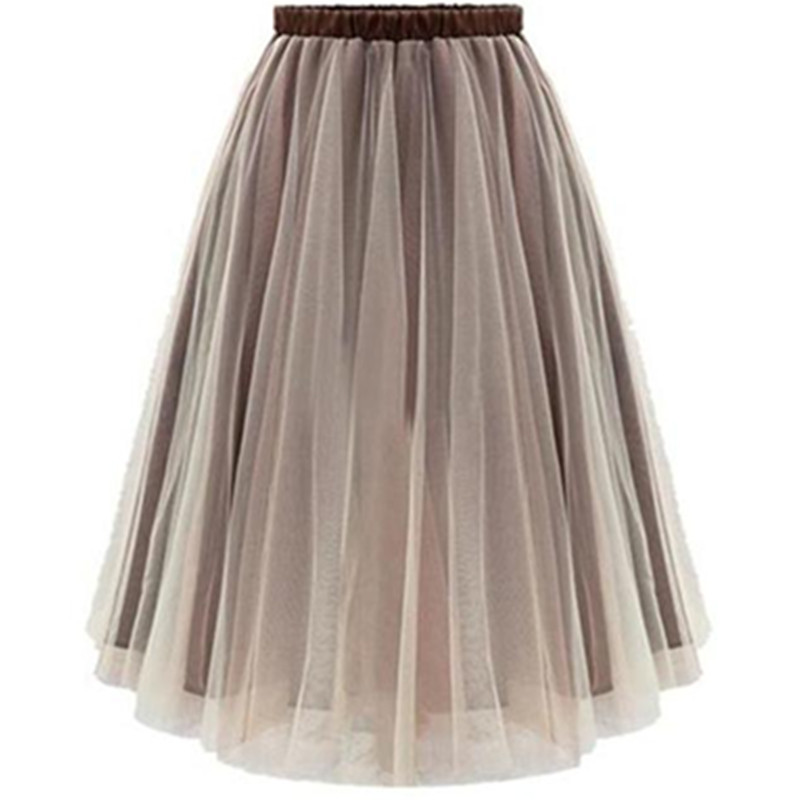 dd0d614428 Get Quotations · 2015 New Arrival Women Tutu Skirts Adults Knee-Length Midi  Skirt Elastic Stretchy Plus Size
