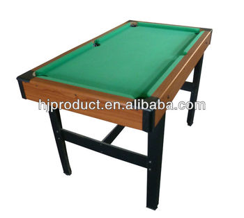 Popular good quality mini pool table kids toy 5ft billiard for 10ft x 5ft snooker table