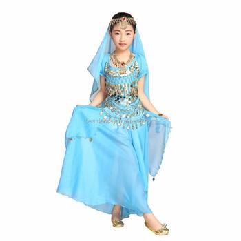 16745df10 BestDance children Girls Kids Belly Dance Costume Outfit Belly Dancing Dress  Skirt Set Sexy Bollywood Halloween. View larger image
