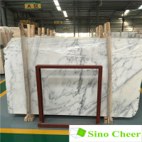 China east white natural marble ,pure white marble slab