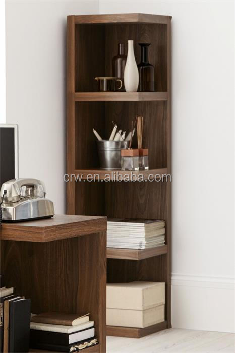 Reciclado shabby chic muebles estanter a de esquina de for Muebles para esquinas