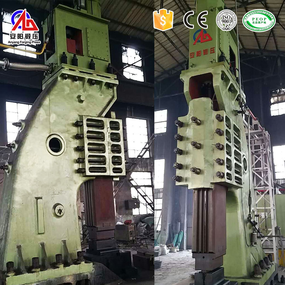 C type of hydraulic forging hammer for open die forging
