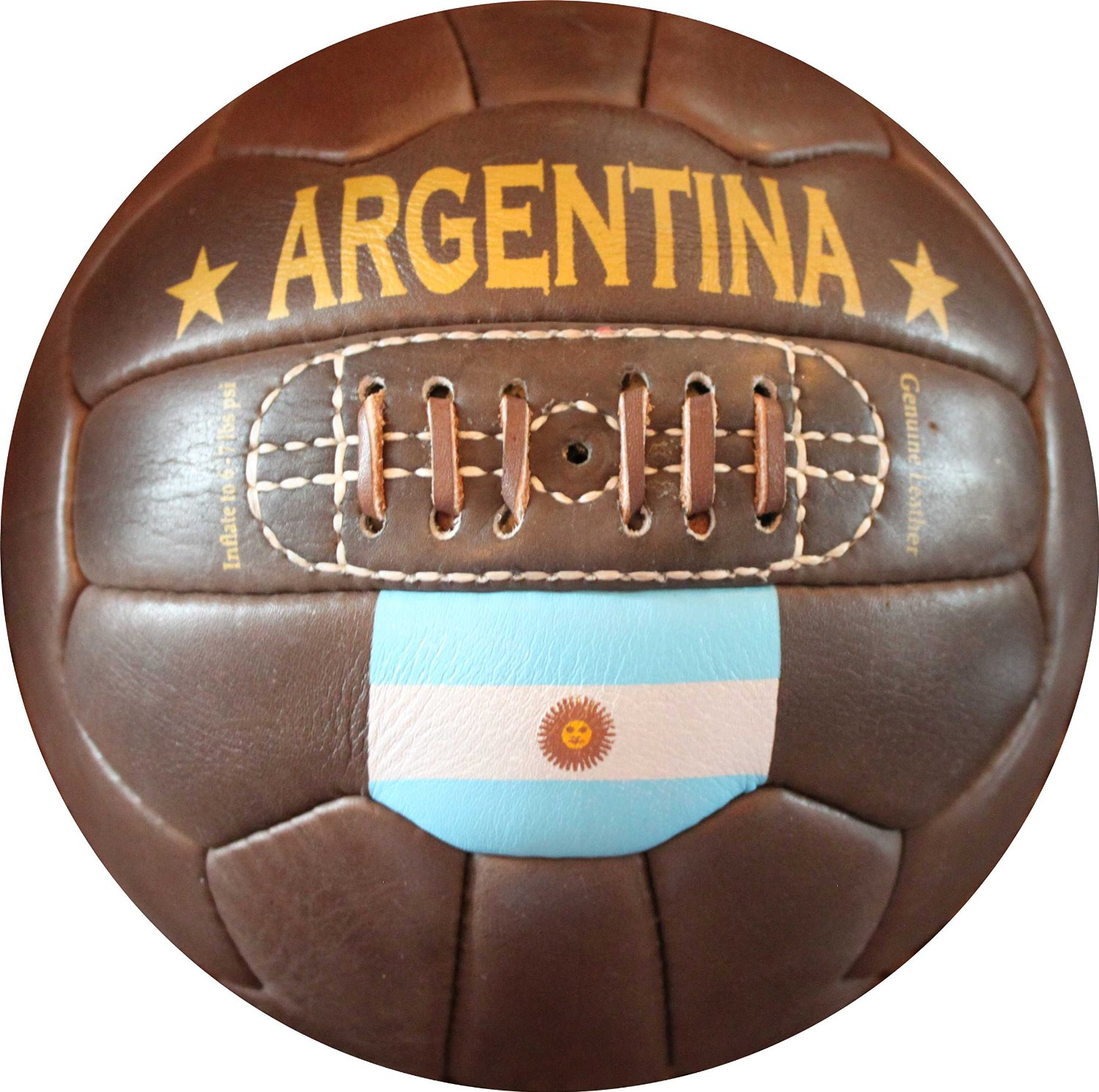07b2be684 Get Quotations · Argentina Vintage Soccer Ball