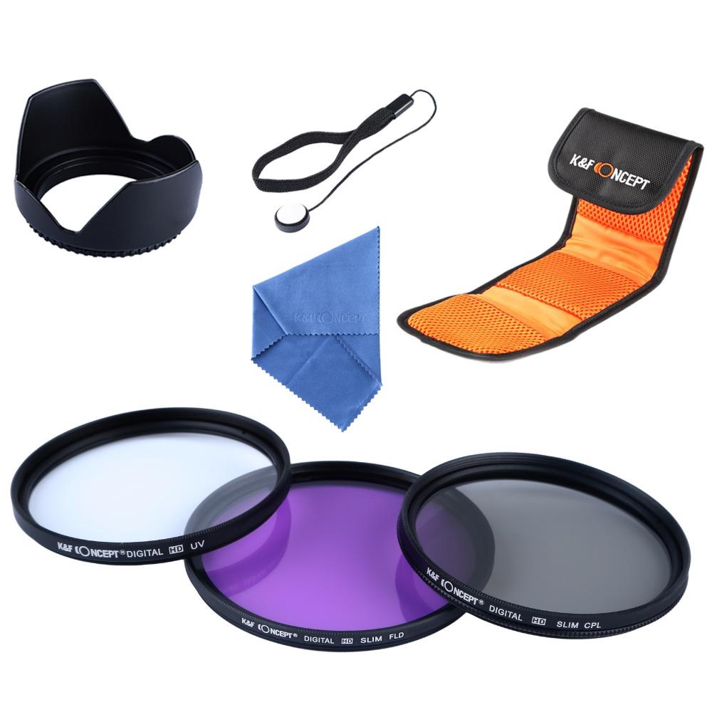 светофильтр 67 мм комплект FLD CPL фильтр + Pen +чехол для EOS 700D 650D 600D 550D 450D 100D камеры поляризационный фильтр для фотоаппарат
