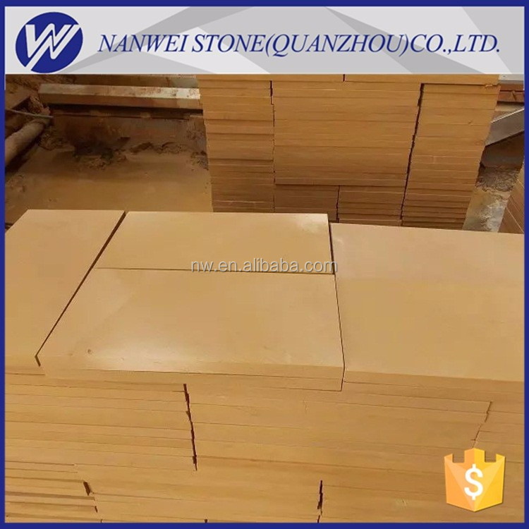 Chinese Supplier honed sand 12x12 slabs for sale sandstone tiles sand stone landscap cut to size natural stone paving