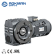 90 Degree Right Angle Keyed Hollow Shaft Output Helical Worm Gear Motor