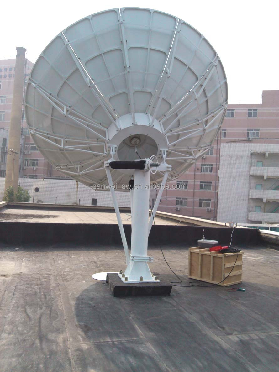 4.5m big satellite dish