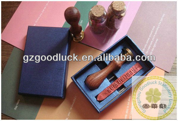 Initial letter gift stamps/Initial letter metal sealing wax stamper