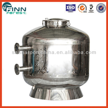 Commercial Swimming Pool Use Stainless Steel 304 Material Large Size Flange Sand Filter Buy