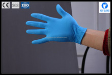 disposable powder free nitrile examination gloves