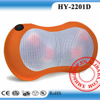Kneading neck massage pillow infrared heat electric back massage pad