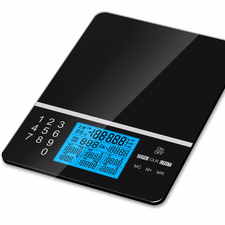 Digital food nutrition kitchen scale