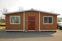 Collapsible Foldable House 20' - less shipping cost with more living space