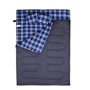Warm Weather Type and Fleece Filling 2 person sleeping bags low price high quality