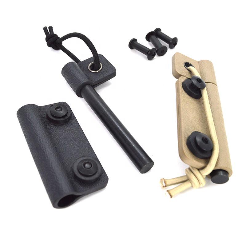 Amazonขายร้อนCookout Fire Stick Survival Flint Fire Starter Rod MatchมีดสำหรับCamping