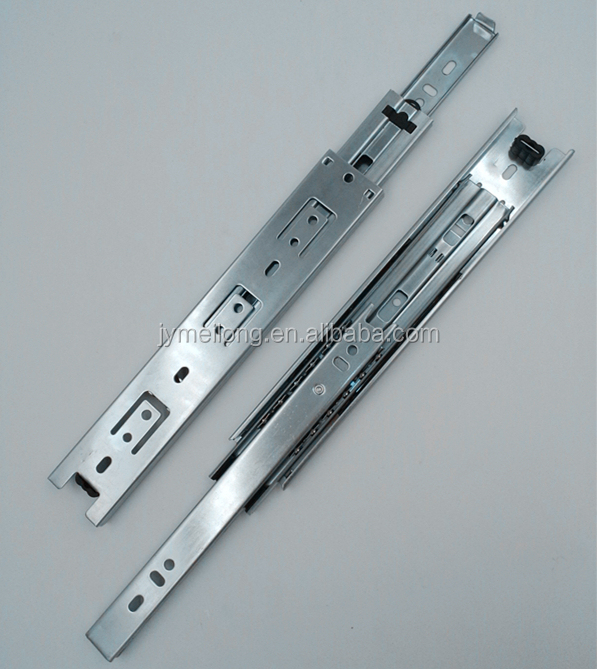 Jieyang Hardware Supplier Hafele Drawer Slide Rail For Computer Desk/triple  Rails Drawer Channel Telescopic Slide - Buy Drawer Channels,Slide Rail For