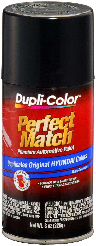 Dupli-Color EBHY18030 Ebony Black Hyundai Perfect Match Automotive Paint - 8 oz. Aerosol