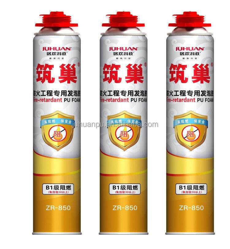 JUHUAN large expansion pu foam / foam polyurethane sealant construction