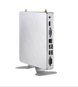 cheap fanless industrial small desktop pc mini cloud computer with low consumption and fast operating speed.
