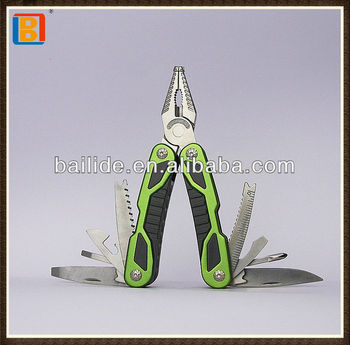 2018 Hot Sell Stainless Steel Multi Pliers Hand Tool With Abs Plastic Handle