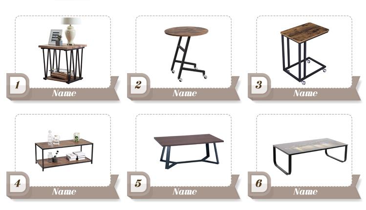 Table pliante ronde portable table de pique-nique pliante