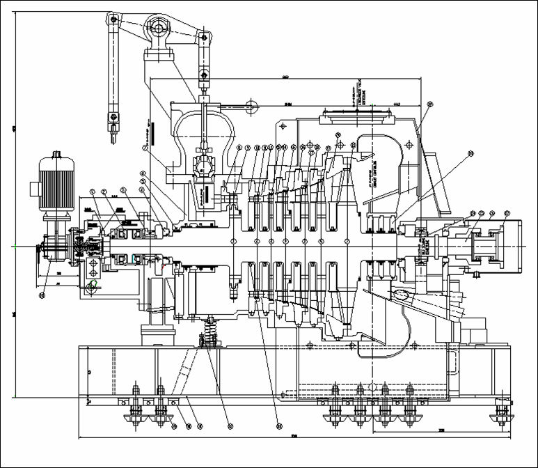 Dongturbo 0 5mw 3mw Steam Turbine For Thermal Power Plant View