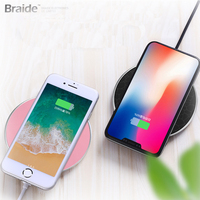Fast Charging 5W Wireless Charger For IPhone,Best Selling Products 2018 in USA Qi Wireless charger pad With Indication Function