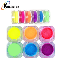 Kolortek Professional Water-soluble Neon Color Fluorescent Pigments