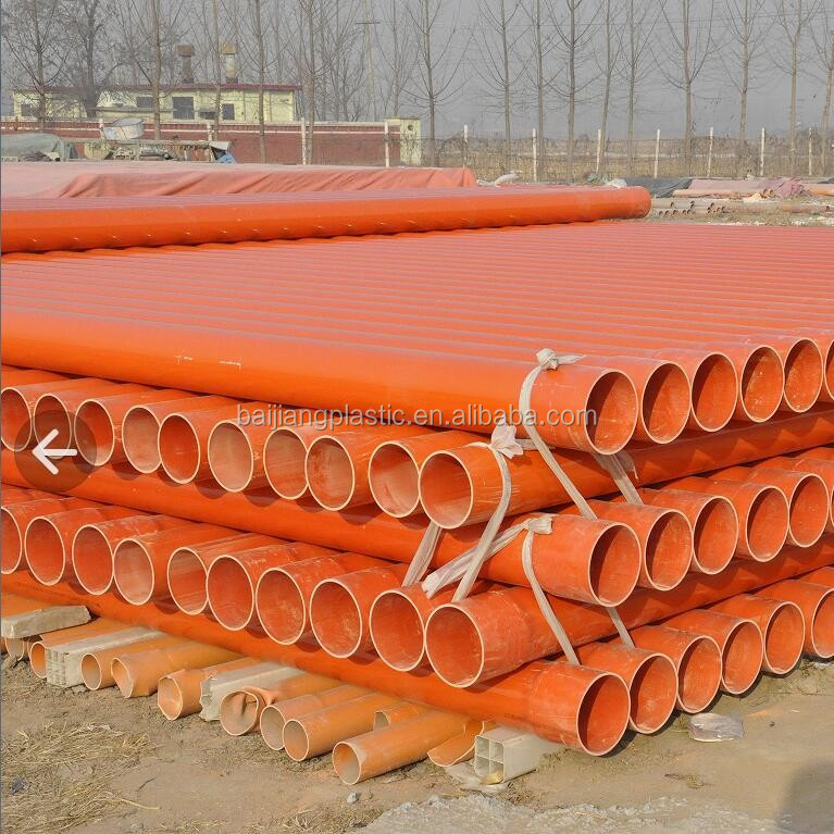 BAIJIANG Tele Products Cable Wire Electrical PVC Pipe Sizes