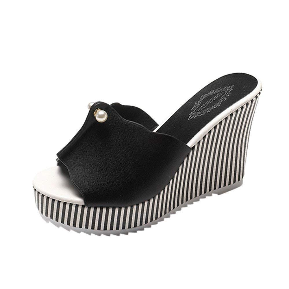 Faber3 Hot Sale Slippers for Women Summer-Women Platform Sandals Women High Heels Women Slope Sandals Slippers