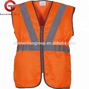 HVW055 High Visibility Pull-Apart Railway Safety Waistcoat Security vests reflective