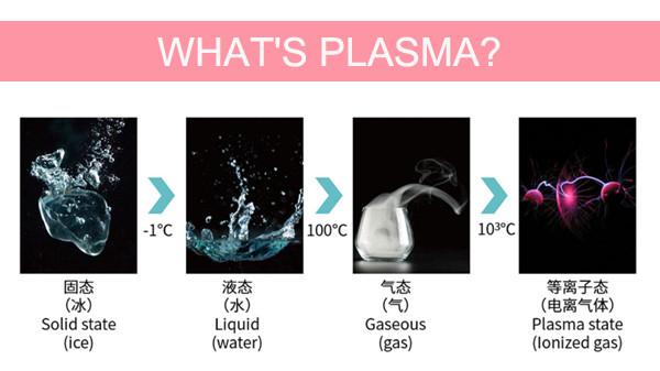 Buona qualità la cura della pelle trattamento Antibatterico medico approvazione del CE con 2 maniglie plasma gel medico apparecchiatura di bellezza