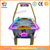 2016 Hotest Coin operated game machine 2P ice air hockey table / air hockey game