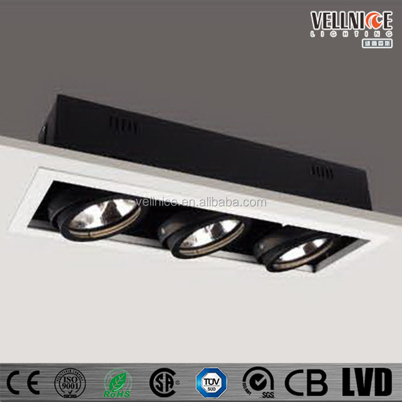 Gimbal Ar111 3x50w/100w Ceiling Recessed Lighting Fixture - Buy ...