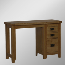 RD Range Dark Solid Oak 3 Drawer Dresser/Oak Wood Dressing Tables
