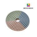 MIDSTAR stone wet pad for angle grinder grit 1000#