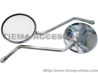 TMMP JH70 total chromeplate,DELTA50,ALPHA50 M8 Motorcycle back mirror(convex mirror) [MT-0447-0234A],high quality