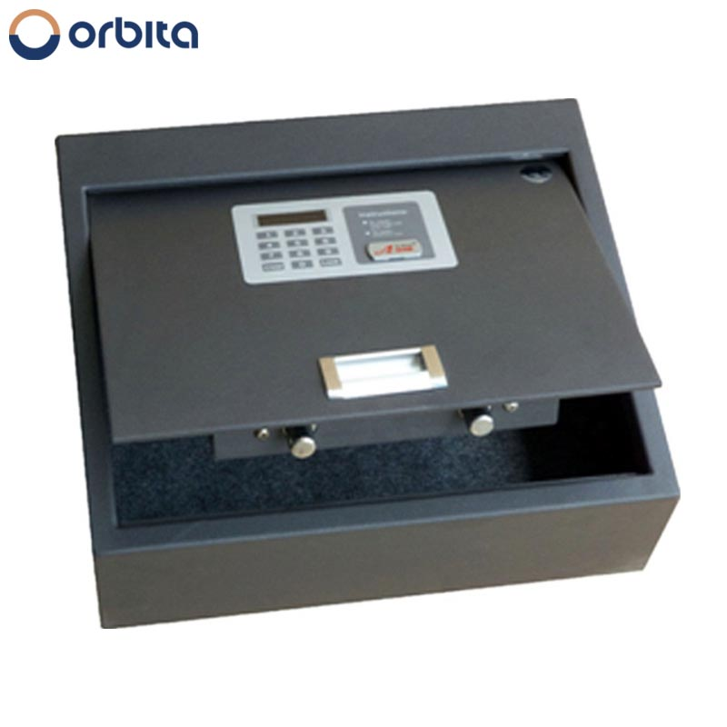 2016 small metal money counting room electronic digital hotel top open safes for sale