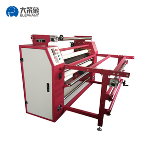 1.2m 110V Electric oil heating sublimation transfer machine roller heat press