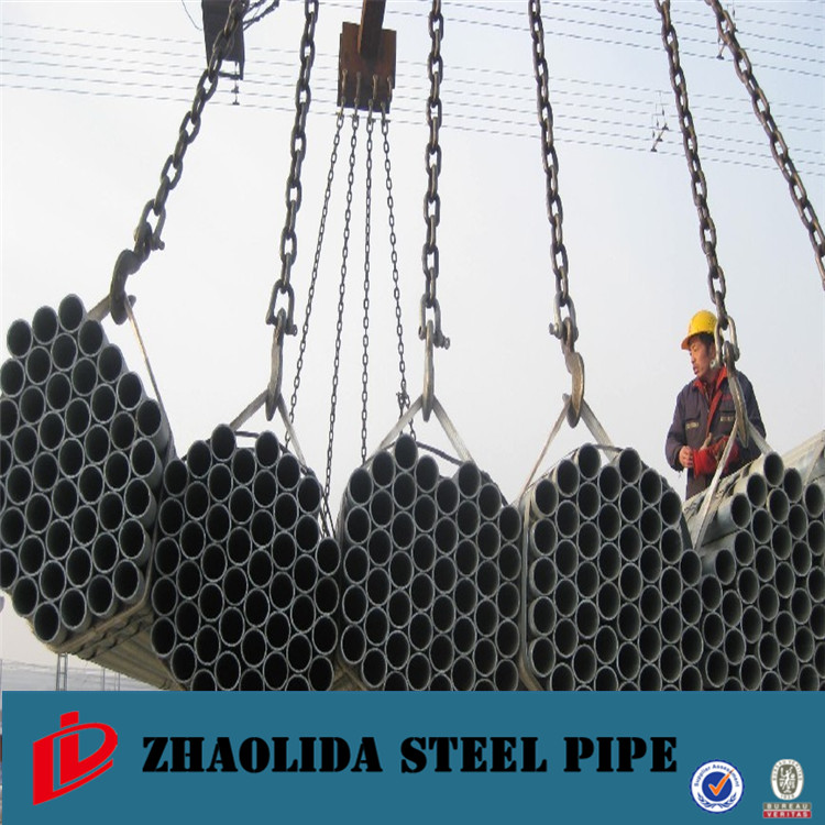 "steel pipe manufacturers in tianjin ! q195 galvanized pipe with swaged end ansi c80.6 1/2"" imc conduit"