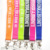 Cheap multi-color logo printed custom company logo printed lanyard